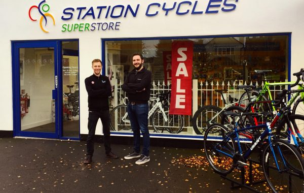 Secure Cycle Station