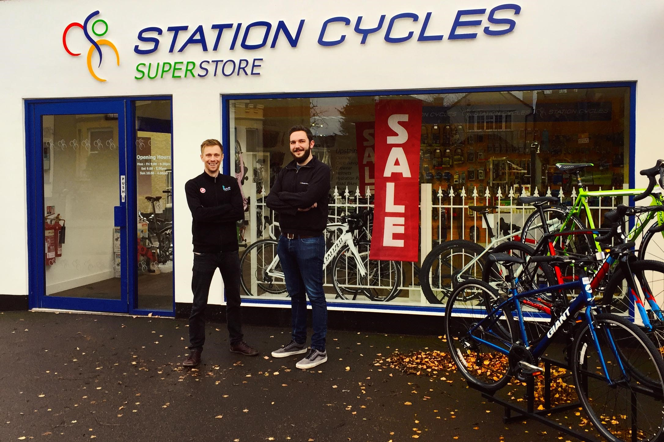TPSS - Leisure: Secure Cycle Station